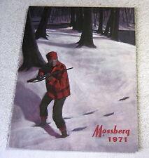 MOSSBERG FIREARMS 1971 gun catalog