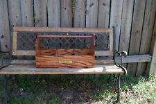 Classic Wooden Grooming Tote Box