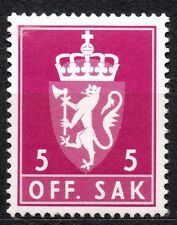 Norway - 1980 Official coat of arms Mi. 106 MNH
