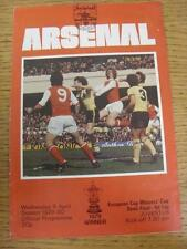 09/04/1980 Vincitori Coppa Europa Cup SEMIFINALE: Arsenale V JUVENTUS (PEN Mark in