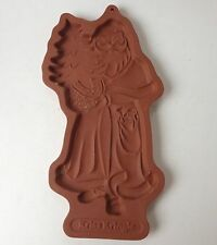 Longaberger Cookie Candy Mold Christmas Kriss Kringle Kris 1991 Pottery Santa