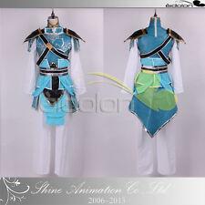 EE0125AD Dynasty Warriors 7/Shin Sangokumusou 7 Zhao Yun Cosplay Costume