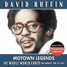 Motown Legends by David Ruffin (CD, Mar-2006, Collectables)