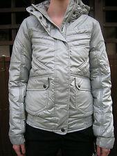 O´NEILL Winter Jacke Johnson Metallic Silver Gr. 176 S Winterjacke mit Kapuze