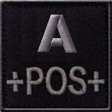 ECUSSON A+ NOIR GROUPE SANGUIN A POS POSITIF INSIGNE LS