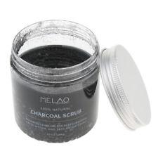 Natural Activated Charcoal Body & Face Scrub Exfoliating Dead Sea Salt Scrub