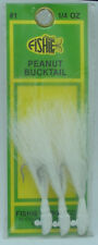 Fishie Tackle PHPK-W Peanut Head Jig White 3CT 20602