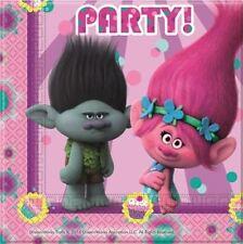 DREAMWORKS Trolls 20 servilletas de papel fiesta Cumpleaños Infantil Vajilla