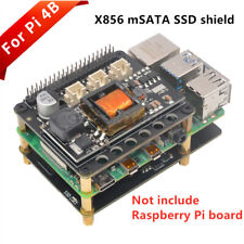 Raspberry Pi 4 X856 mSATA SSD Storage Expansion Board X856 V1.3 USB3.1 Shield