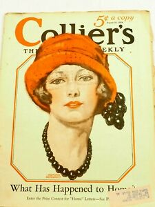 Collier's Magazine What Happened to Home? August 16,1924
