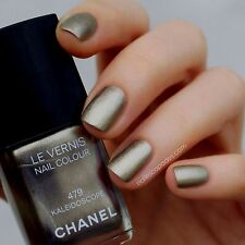479 KALEIDOSCOPE shimmering silvery taupe CHANEL NAIL LAQUER VARNISH NEW NO BOX