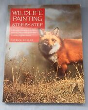 American Wildlife Painting Deer Elk Bear Fox Paint instruction P Seslar 2000, PB