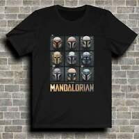 The Mandalorian Themed Star Wars Baby Yoda The Child Mando T-Shirt Mens Womens