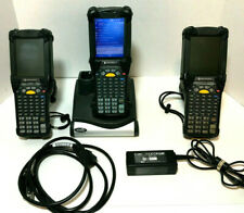 Lot of 3 Motorola Symbol Mc9090 Handheld Barcode Scanner + Crd9000-1001Sr Cradle