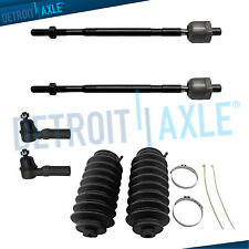 For 1998 1999 2000 2001 Nissan Altima Inner Outer Tie Rod End Links & Rack Boots