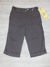 NEW Da-Nang Silk Blend Gaucho Pants in Orcmi Brown Size: Small (CSX5284)