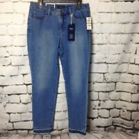 CHARTER CLUB BRISTOL SKINNY LEG ANKLE JEANS 18 NEW
