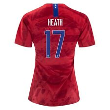77e7af23e57 Tobin Heath  17 USA WOMENS Red 2019 World Cup SOCCER JERSEY