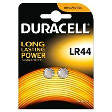 2 x Duracell LR44 1.5V Batteries LR 44 A76 AG13 357