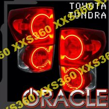 ORACLE Toyota Tundra 2007-2010 RED LED Tail Light Halo RINGS Halo Kit