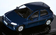 CHEVROLET CELTA Super / SUZUKI Fun (base OPEL CORSA ) 2006-12 BLEU BLEU 1:43