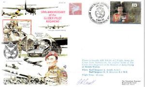 AF7b Glider Pilot Regiment D-Day 1944 Arnhem RAF cover signed AAC pilot
