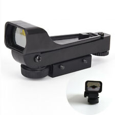 Tactical Reflex Sight Red Dot Sight Scope Wide 11mm View Airgun Rail Mounts