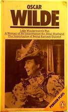 Plays by Oscar Wilde FREE AUS POST used paperback 1984