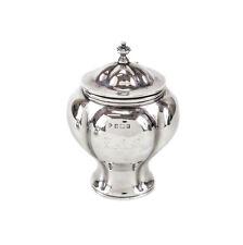 Martin, Hall & Co. Birmingham Sterling Silver Lidded Tea Caddy for Tiffany, 1910