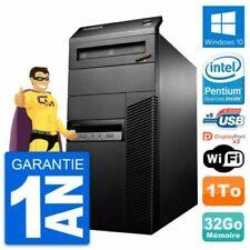 PC de bureau Lenovo pour 32 Go maximale de la ram