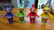 TELETUBBIES  Set of 4 Chunky Figures Dipsy / Laa La / Po / Tinky Winky  STANDING