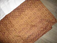 "Croscill Galleria Red Brown Gold California King Bedskirt 15"" Split Tuscan"