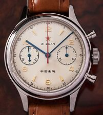 1963 Chronograph 37,5mm Sapphire crystal, crystal back & 3 straps / Saphirglas
