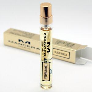 Mancera Black Vanilla Eau de Parfum 8ml(0.28oz) travel mini spray