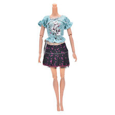 2017 Fashion Handmade Party Dresses Clothes For Barbie Noble Doll Best Gifts ^