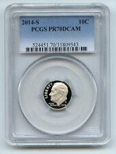 2014 S 10C Clad Roosevelt Dime PCGS PR70DCAM