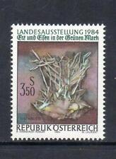 Austria Gomma integra, non linguellato 1984 SG2017 minerale e ferro nel verde MARK exhb