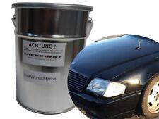 0,5 Litre Peinture à base d'eau prêt à l'em Ploi Mercedes 040 NOIR PROFOND