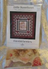 LITTLE SWEETHEART BY THIMBLEBERRIES ~ PATTERN AND PRINTED MUSLIN DESIGN