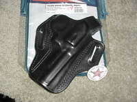 """S&W K Frame 66 19 4"""" Ruger Speed six Securty six 4""""  Thumb Break Holster 01 RH"""