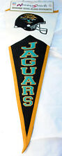More details for jacksonville jaguars pennant, embroidered logos, 42x100cms