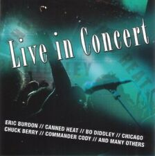 Live in Concert (#fu1084) Canned Heat, Chicago, Commander Cody, Eric Burd.. [CD]