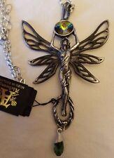Green Goddess Pendant on Chain by Alchemy Gothic