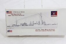 Midship Models 301 USS Ward DD-139 Four Stack Destroyer 1/700th Scale 1942