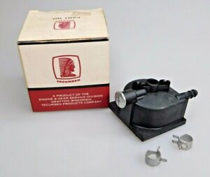 Tecumseh 730625 Black Carburetor Fuel Bowl Kit Original NOS Service Part
