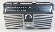 Vintage Panasonic Portable Boombox 8 Track Tape Am Fm Player Stereo Radio Rs-836