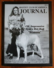Mastiff Club of America Journals Collection of 41 Magazines 1989 Dog Westminster