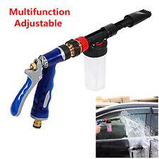 Hot 2in1 Car Cleaning Foam Gun Washing Foamaster Gun Water Soap Shampoo Sprayer
