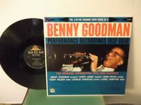 "Benny Goodman,MGM,""Performance Recordings 1937-1938 Vol.3""US,LP,mono,swing,Mint-"