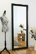 Extra Large Black Shabby Chic Ornate Wall Mirror Bargain 6Ft6 X 2Ft6 198X 75cm